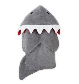 Mud Pie Shark Hooded Towel