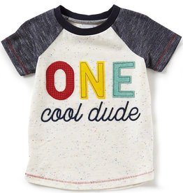 Mud Pie One Cool Dude Shirt, 12/18M
