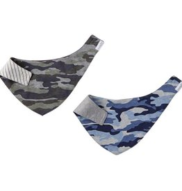 Mud Pie Camo Dribble Bibs Set