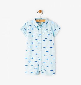 Hatley Tiny Sharks Short Mini Romper
