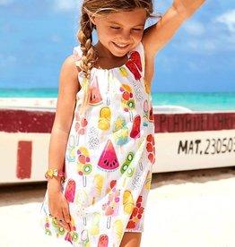 Hatley Fruity Lollies Bow Back Dress