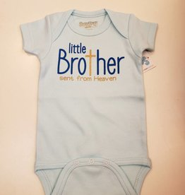 Sara Kety Little Brother Heaven Onesie