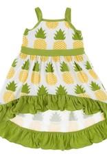 Kickee Pants Hi-Lo Maxi Dress Nat. Pineapple