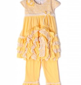 Isobella & Chloe Yellow Dandelion Darling 2 Piece Set