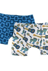 Kickee Pants Boy's Boxers Set Samba and Ipanema