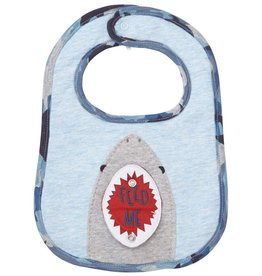 Mud Pie Shark Bib