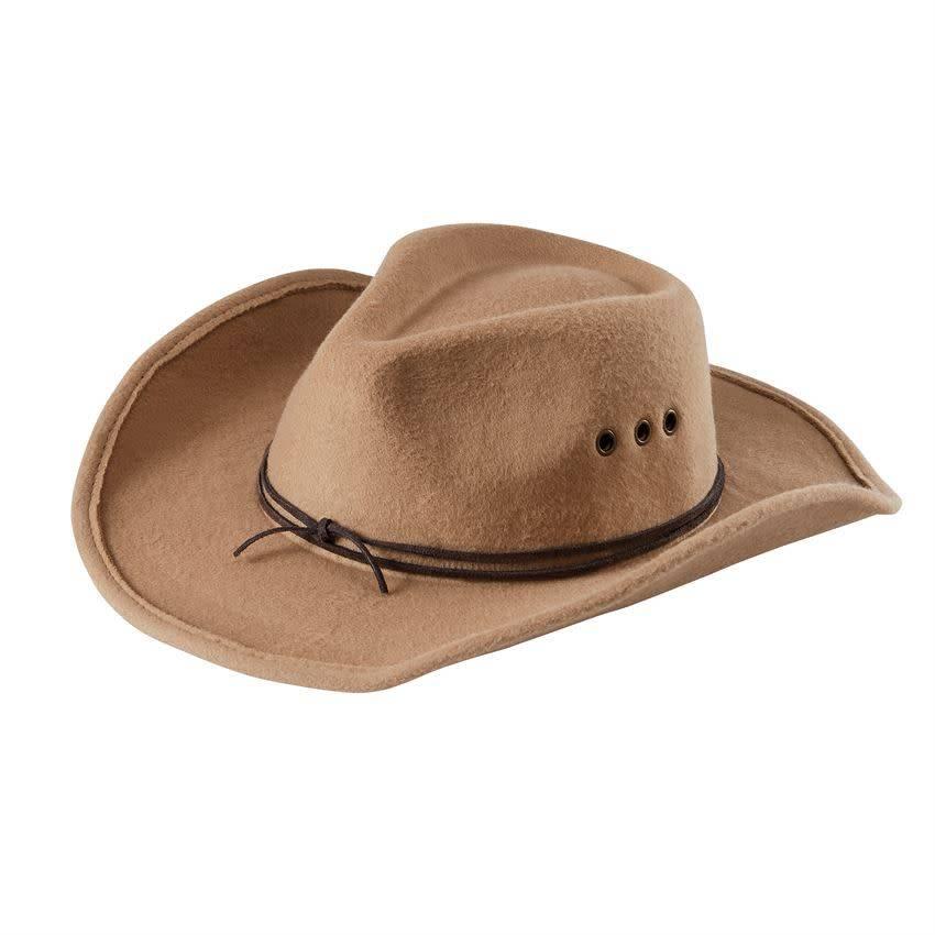 Mud Pie Tan Cowboy Hat