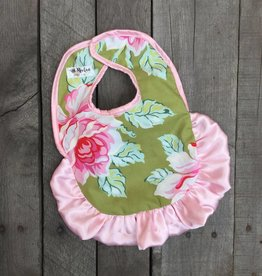 Rockin Royalty Hello Roses Bib
