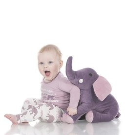 Kickee Pants Elderberry Mama Elephant Plush