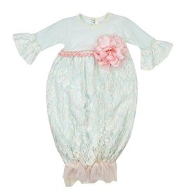 Haute Baby Fairy Frost Gown