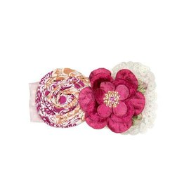 Haute Baby Magenta Magic Headband, Infant