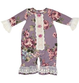Haute Baby Sugar Plum Coverall