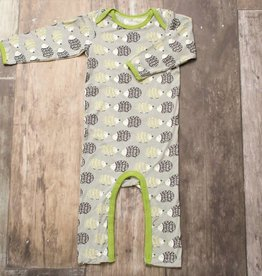 Bestaroo Hedgehog Romper Green/ Grey