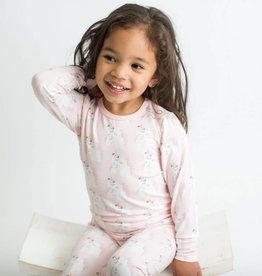 Bestaroo Unicorn 2 PC Pajama Set Pink