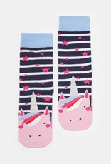Joules Neat Feet Character Socks Unicorn