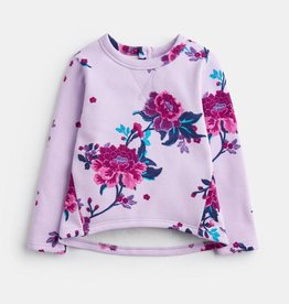 Joules Mart Sweatshirt Lilac Chinoiserie Floral