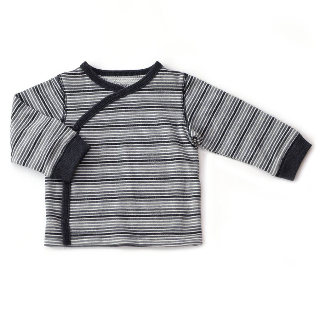 Kapital K Cardigan & Pant Salt N Pepper Stripe