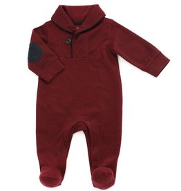 Kapital K Shawl Collar Coverall Crimson