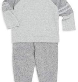 Splendid Light Grey Raglan Set