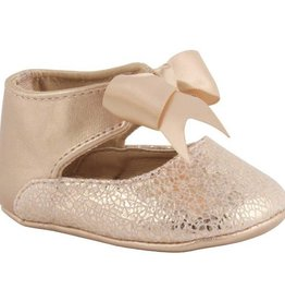 Trimfoot Co. Rose Gold Ankle Strap Bow Shoe
