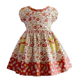 Little Miss Marmalade Hazel the Hedgehog Picnic Dress