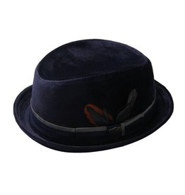 Fore!! Axel & Hudson Navy Suede Trilby