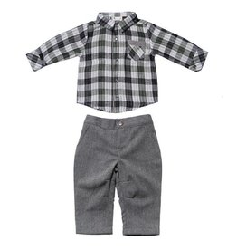 Fore!! Axel & Hudson LS Reversible Plaid Shirt Set