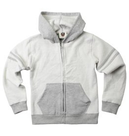 Wes And Willy Reverse Fleece Zip Hoodie Heather