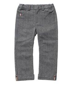 Fore!! Axel & Hudson Herringbone Cuff Pant Grey