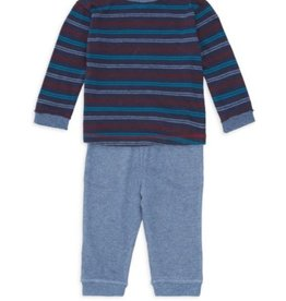 Splendid True Navy Stripe LS Set
