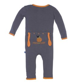 Kickee Pants Stone Trick or Treat Holiday Coverall