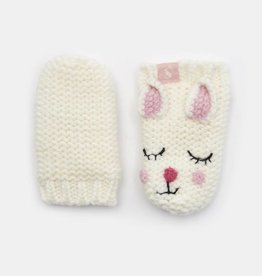 Joules Baby Chummy Character Mittens Bunny
