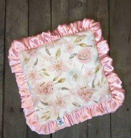 Rockin Royalty Sweet Blossom Lovie Blanket