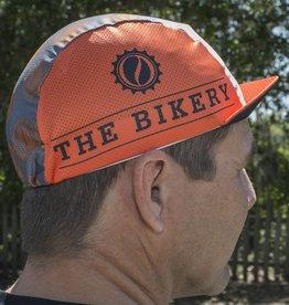 The Bikery Pace Cap V2 Orange/Grey