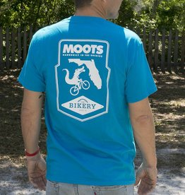 Moots Moots + The Bikery Shirt Turquoise