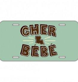 Cher Bebe License Plate