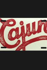 Cajun License Plate
