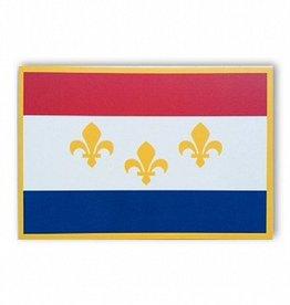 New Orleans Flag Postcard
