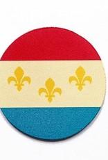 NOLA Flag Coaster