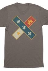 Cross Flag Mens Tee