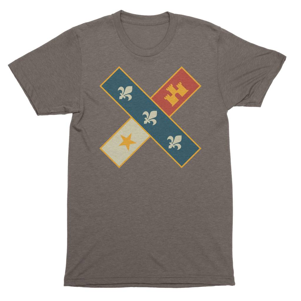 Cross Flag Mens Tee