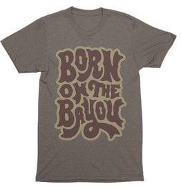 Born on the Bayou Mens Tee