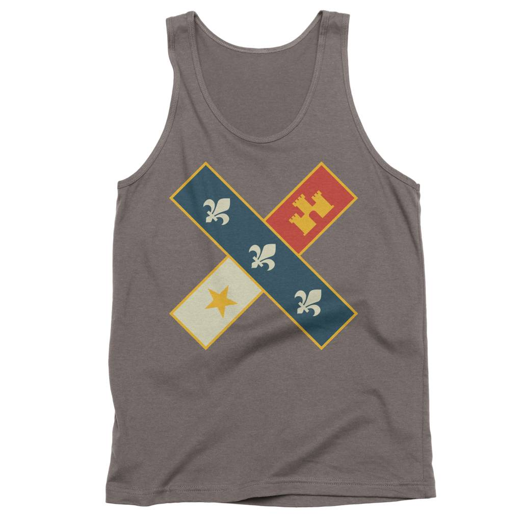 Cross Flag Mens Tank