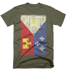Acadian Flag Army Mens Tee