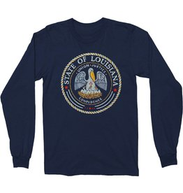 State Seal Thermal Mens Tee