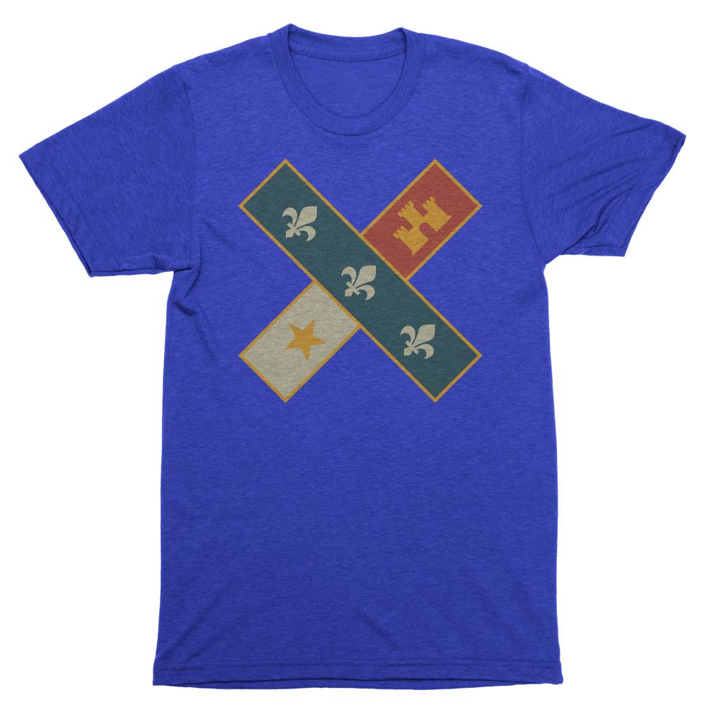 Cross Flag Youth Tee
