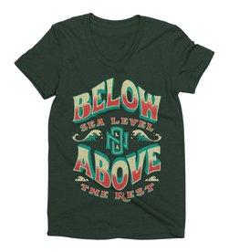 Below Above Womens Tee
