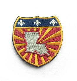 Louisiana Power Shield Patch