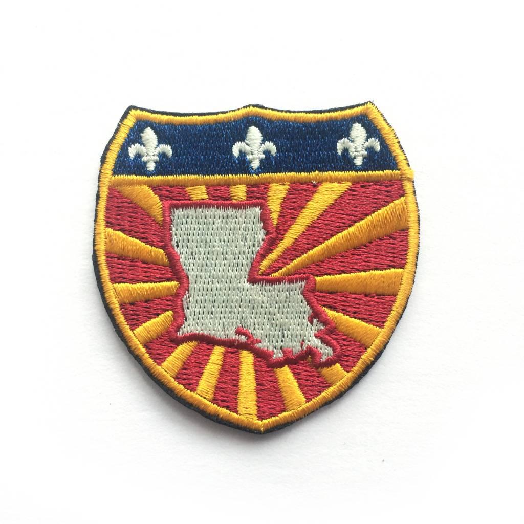 Louisiana Power Shield Patch