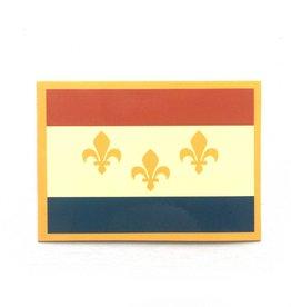 NOLA Flag Sticker